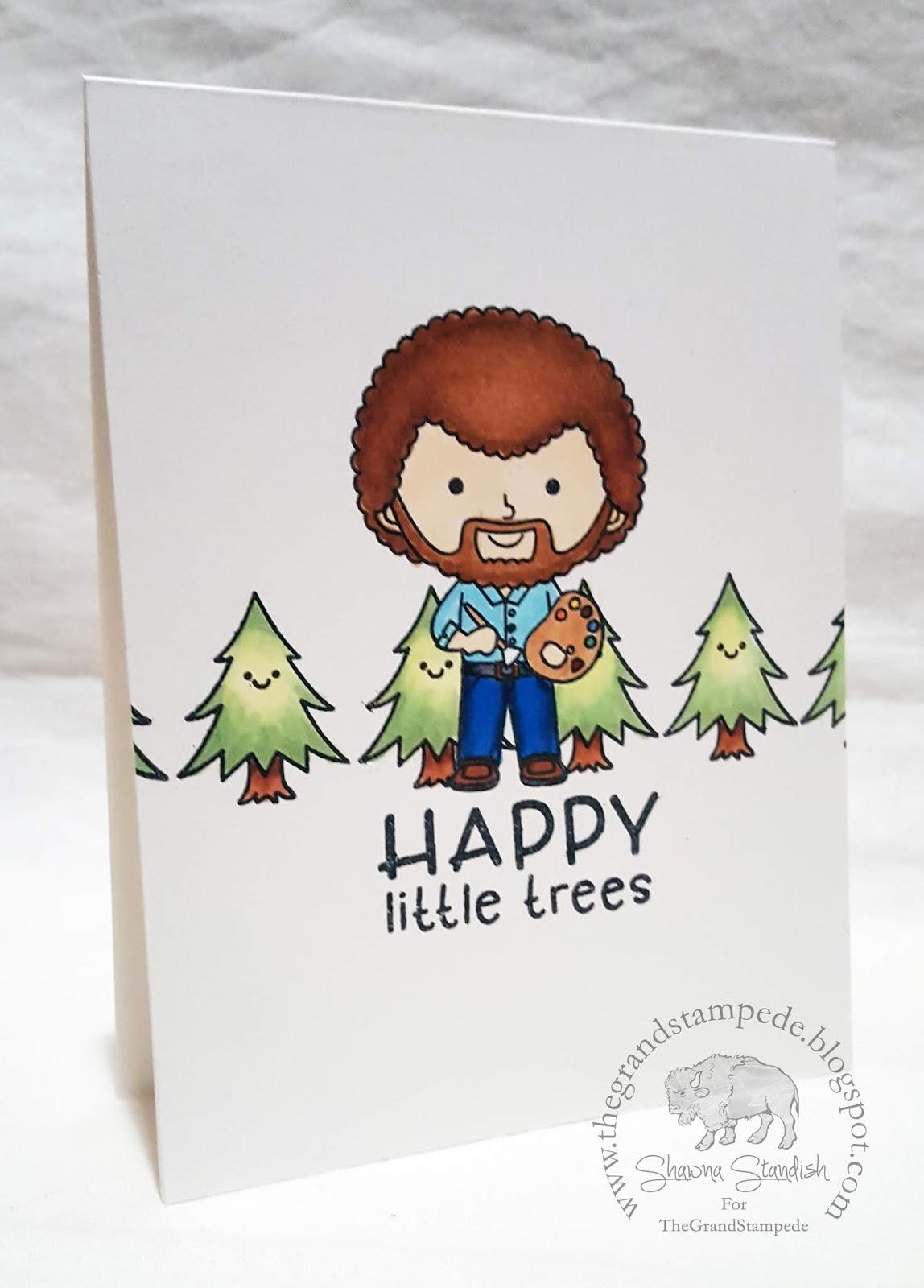 happy little trees - HD1148×1600