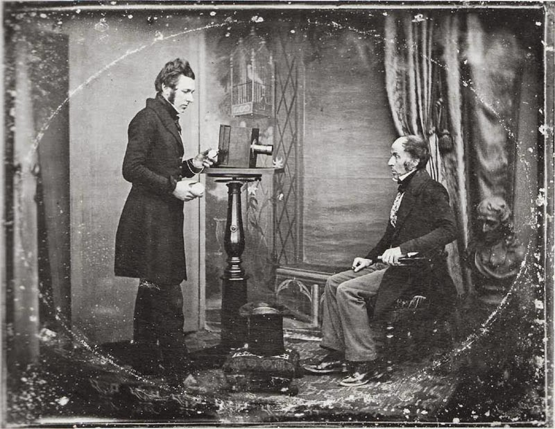 Anuncio de retratos S XIX