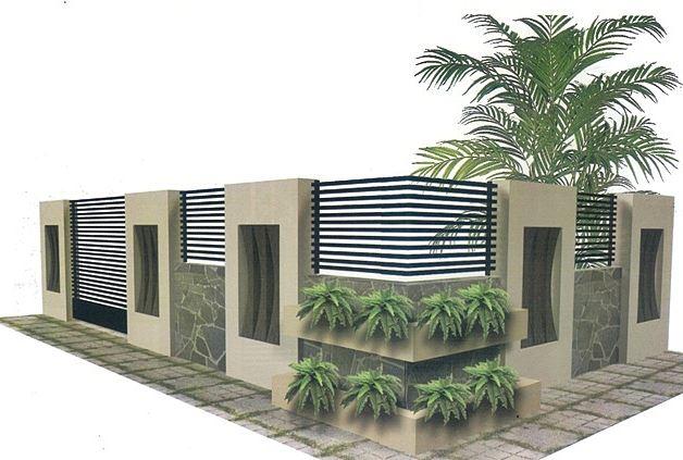 Model Pagar Rumah dari Berbagai Bahan Untuk Rumah Minimalis dan Mewah