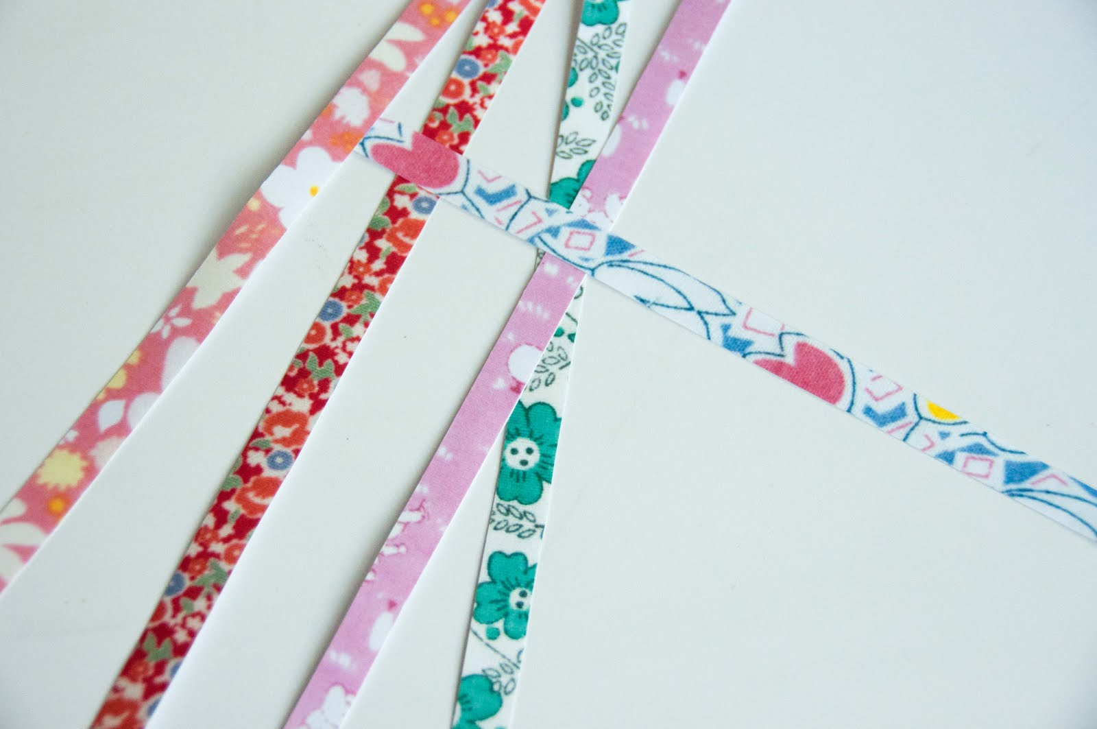 Aesthetic Nest: Craft: DIY Printed Paper Tape (Washi Tape ...