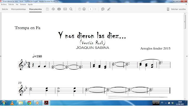 Arreglos Musicales Fender Y Nos Dieron Las Diez Joaquin Sabina