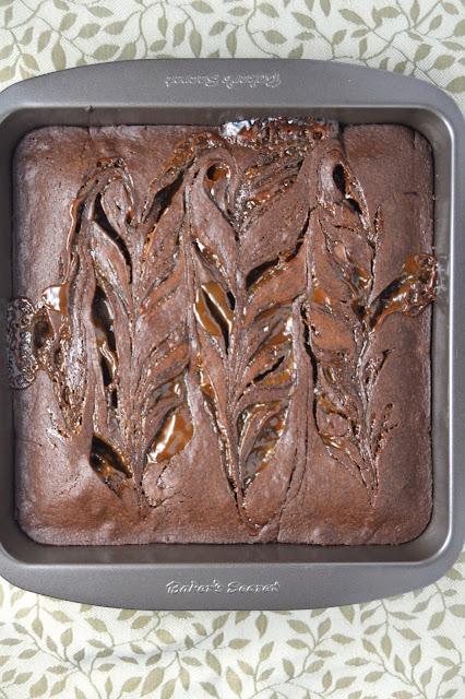 Nutella Dulce de Leche Brownies