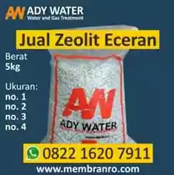 Ady Water jual zeolit 5 kg