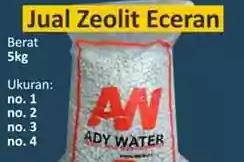 Harga Zeolit | Harga Pasir Zeolit untuk Filter Air | Harga Batu Zeolit per karung per kg
