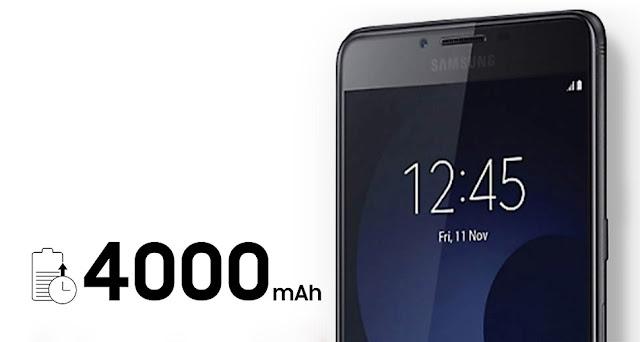 Baterai 4000 mAh Samsung Galaxy C9 Pro tahan lama
