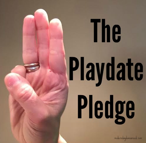 The Playdate Pledge         |         Confessions of a Stay-At-Home Mom