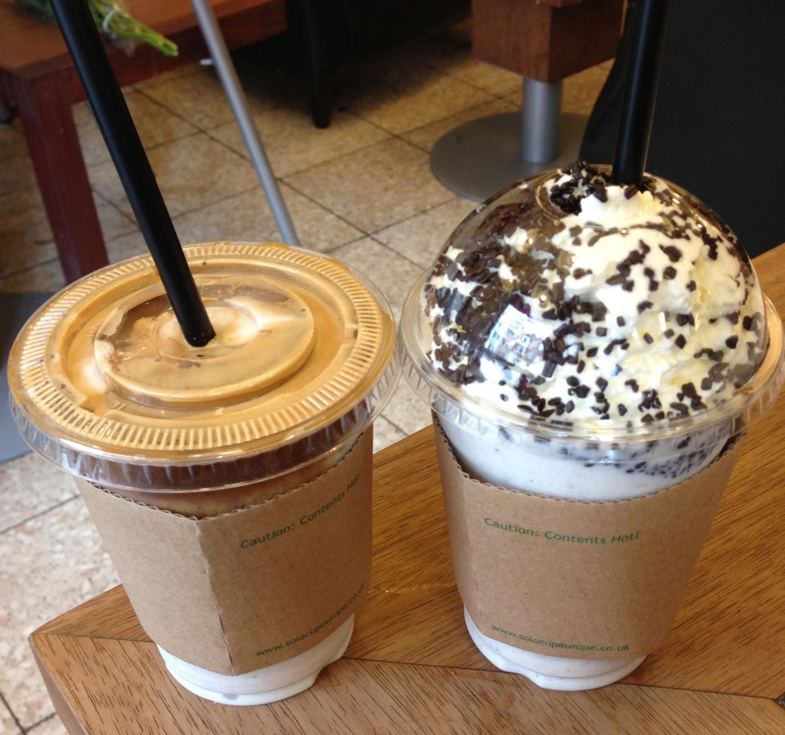 Baresso Coffee, kaffe, gelato, flødeskum, latte, cafe, fredag, sommer, hygge, kæreste