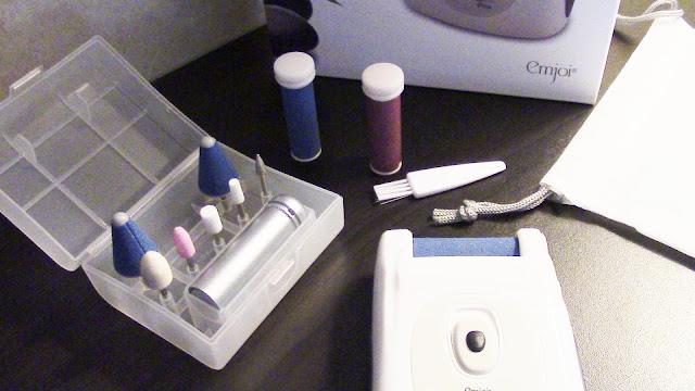 emjoi micro pedi nano pro callous remover manicure kit