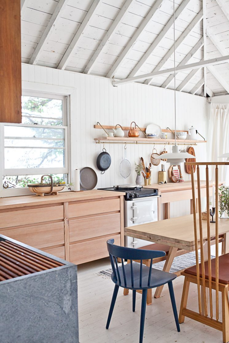 Jolie cuisine dans un cottage