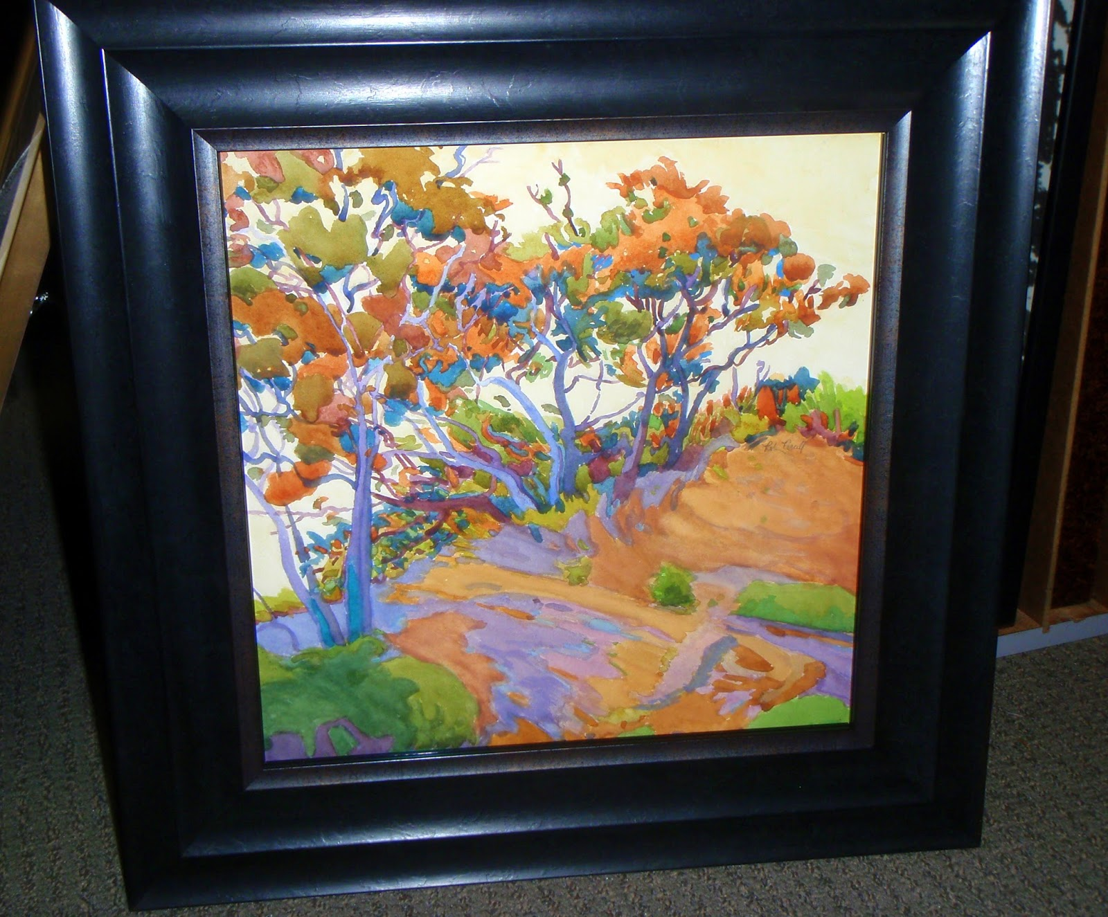 robin purcell california watercolors in the plein air tradition ...