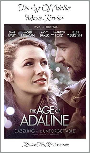 The fantasy romance movie, The Age Of Adaline, grabbed my attention from the first frame and didn't let go. Here's my movie review.
