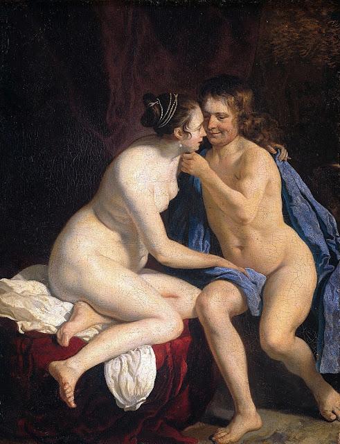 VAN LOO - Amanti - sex art - nudo femminile-maschile