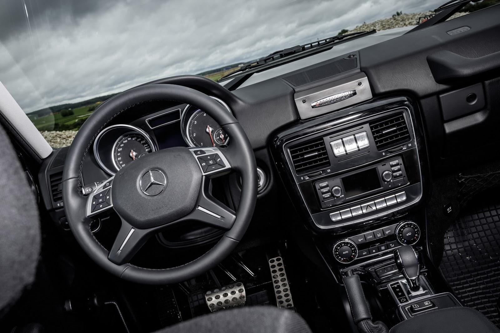 New 2017 Mercedes Benz G350d Professional Brings G Class