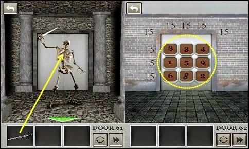 Best game app walkthrough 100 locked doors level 61 62 63 for 100 doors door 62
