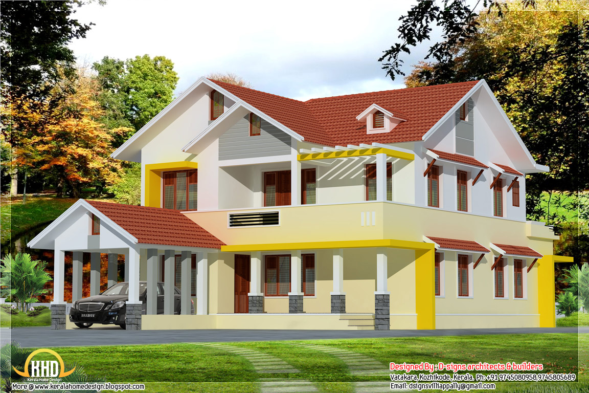 July 2012 kerala home design and floor plans for Kerala model house photos with details