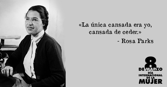 Frases Famosas Y Curiosas Rosa Parks