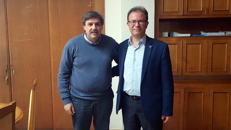 Συνάντηση του Προεδρου του Ιατρικού Συλλόγου Έβρου με τον Υπουργό Υγείας