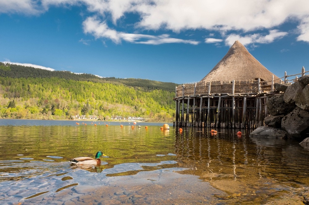 Scottish Crannog Centre, Loch Tay