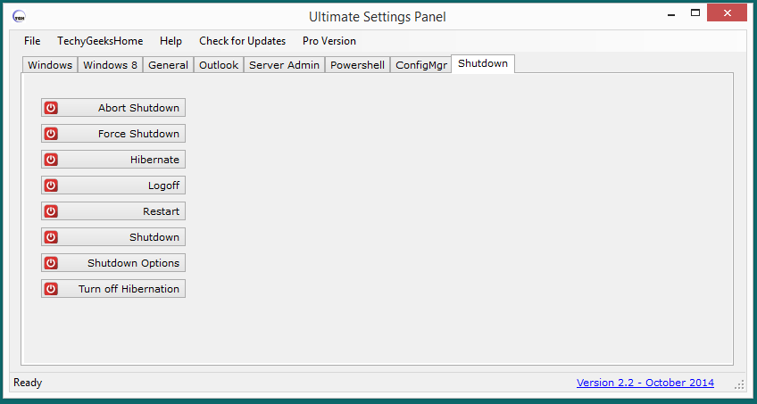 Ultimate Settings Panel Released 5