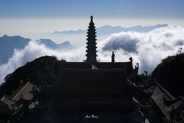 Buddha in cloud