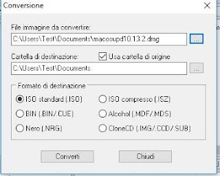 Avvio_Conversione