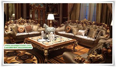 Kursi Sofa Tamu Mewah Terbaru Brunello