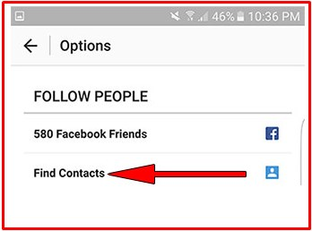 how to find facebook friends on instagram online