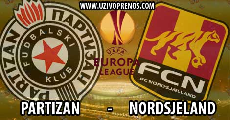 Liga Evrope: Nordsjeland - Partizan uživo uživo prenos
