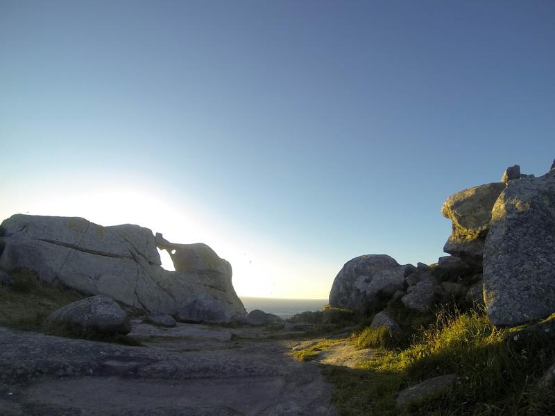 Pedra da Campá en Islas Cíes