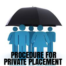 Procedure-Private-Placement-Shares