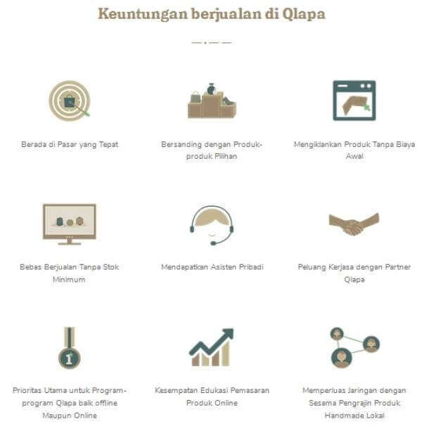 Keuntungan Menjual Produk di Qlapa.com