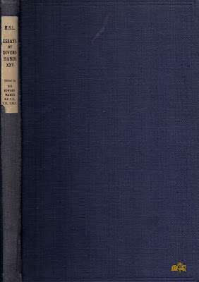 Essays by Divers Hands - Somerset Maugham
