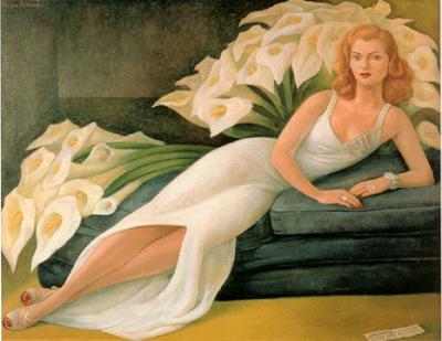 Retrato de Natasha Gellman - Diego Rivera e suas principais pinturas ~ Muralismo mexicano