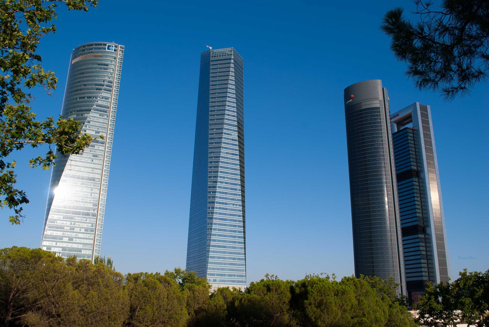 4 towers skyscrapers eurostars hotel madrid