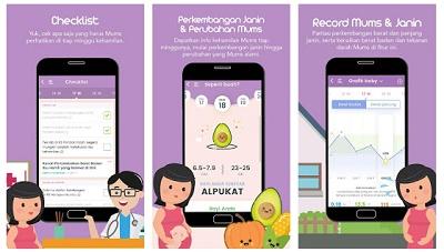 aplikasi untuk ibu hamil