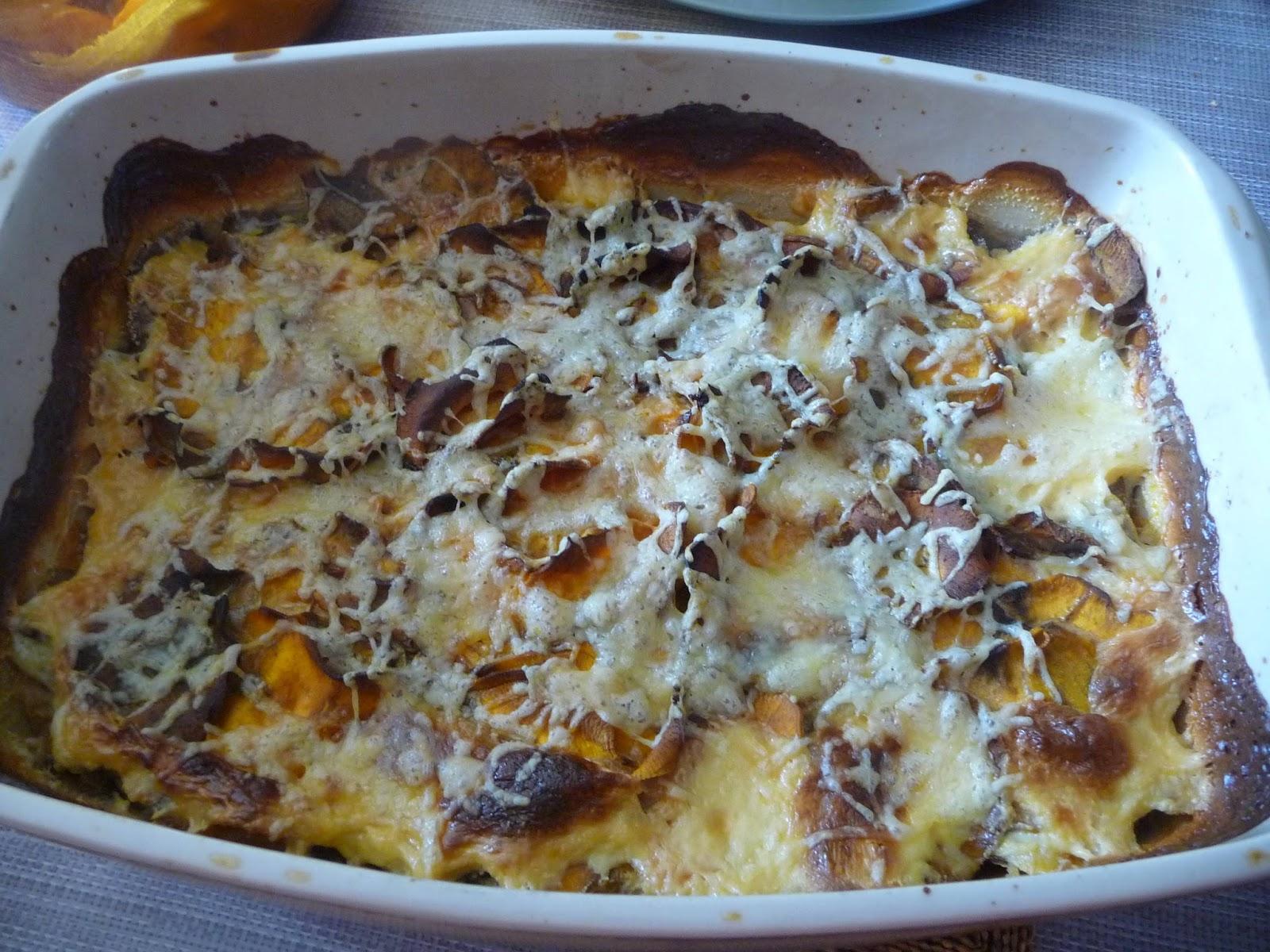 Cuill re aiguille et scie sauteuse gratin de patates douces au chorizo - Quand recolter les patates douces ...