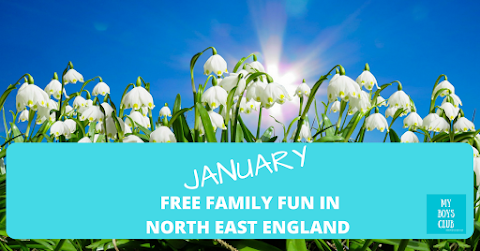 What's On January - 9 FREE Family Fun Events & Activities in North East England