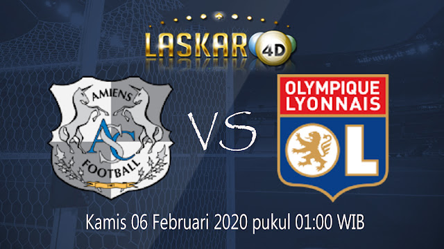 Prediksi Pertandingan Lyon vs Amiens SC 6 Februari 2020