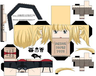 Papercraft Misa - Death Note