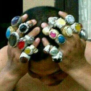 Koleksi batu cincin