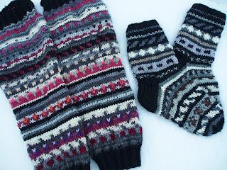 woollen socks