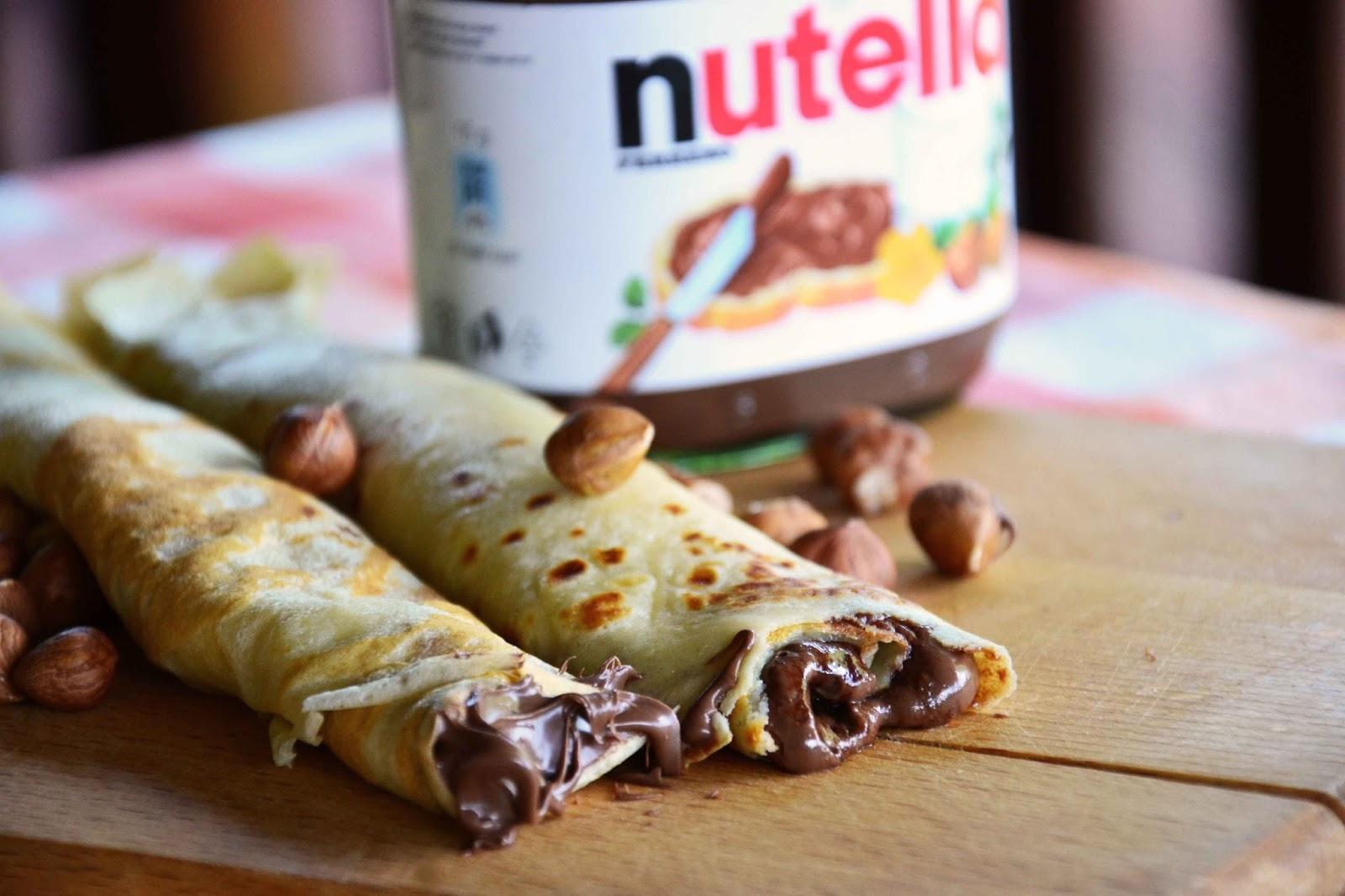 The Eccentric Cook Nutella Stuffed Crepes