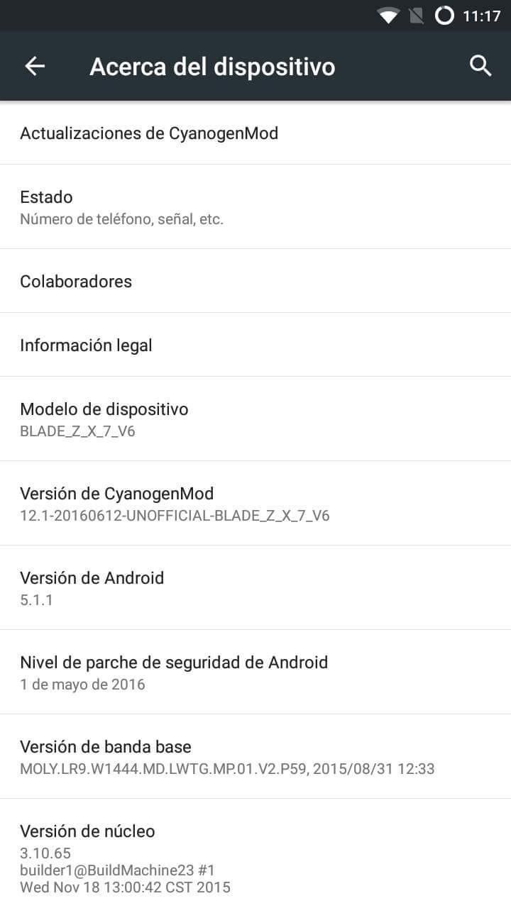 root zte v6 plus Mobile