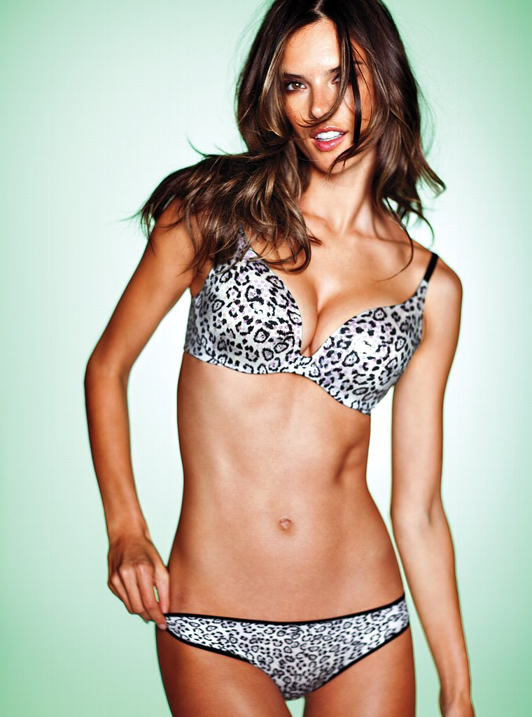 Alessandra Ambrosio Photoshoot for Victorias Secret
