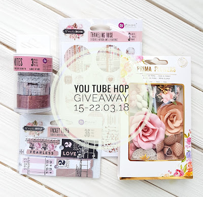 Mixed Media YouTube hop + Giveaway!!!