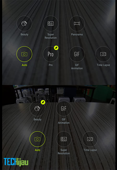 Pilihan fitur kamera pada Zenfone 4 Max Pro