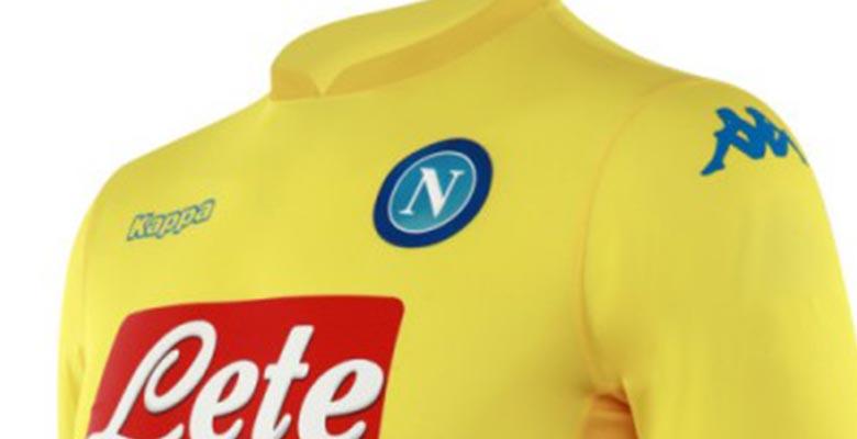 Napoli presentó su camiseta suplente Kappa para la temporada 2017/18