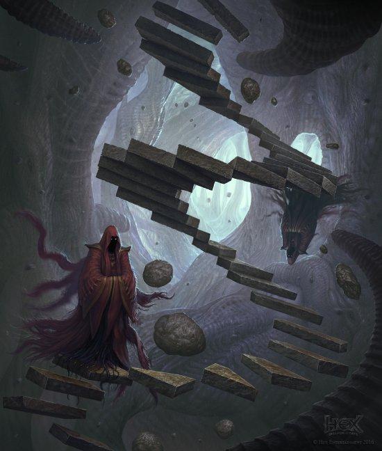 Martin de Diego Sádaba almanegra deviantart arte ilustrações fantasia games sombrio