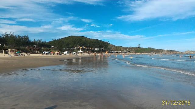Praia da Vila em Imbituba-SC