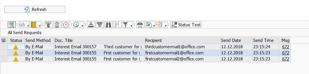 SAP ABAP Central: Sending Email from FINT